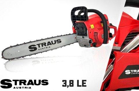 3,8 LE-s Straus benzines láncfűrész