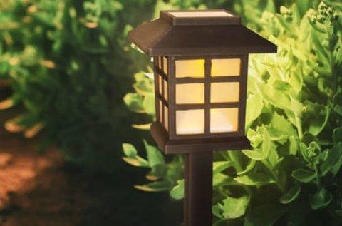 LED-es szolár lámpák választható kivitelben