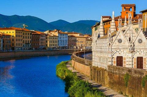 3 napos feltöltődés június végéig Pisa belvárosában