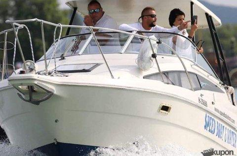 30 perces extrém hajós program 1 főre a Balatonon