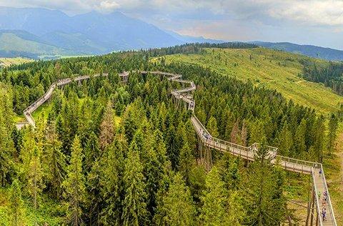 Kalandos kirándulás 1 fő részére Szlovákiában