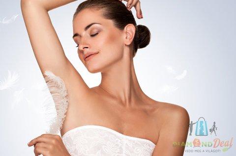 Bársonyos bőr intim és hónalj gyantázással