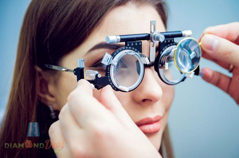 Vékonyított lencsés, dioptriás szemüveg