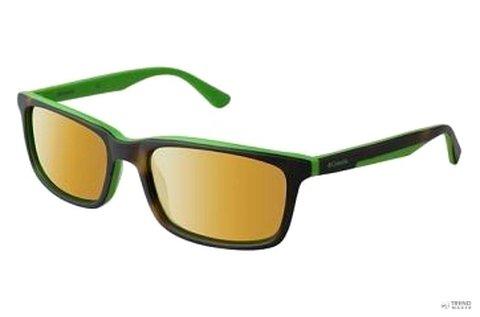 Columbia férfi napszemüveg barna-zöld színben