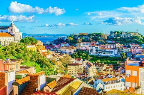 Ősz eleji barangolás Lisszabonban repülővel
