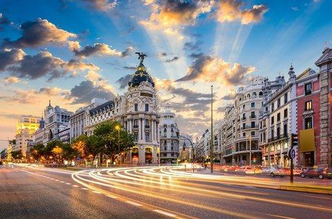 4 napos őszi városnézés Madridban repülővel