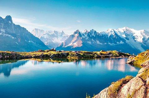 1 hetes buszos körutazás 1 főnek a Svájci Alpokban