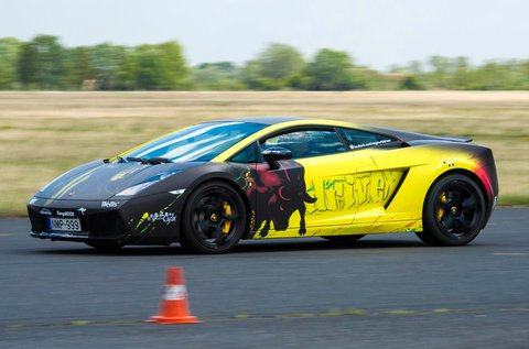 4 körös Lamborghini Gallardo LP 550-2 vezetés