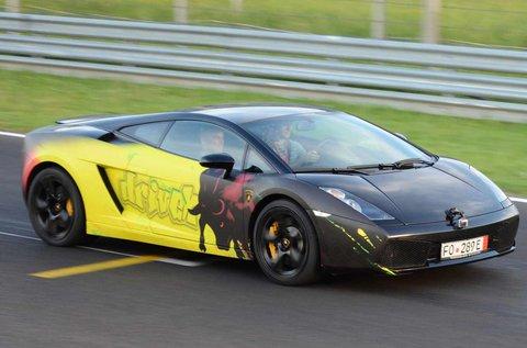 Lamborghini Gallardo vezetés a Hungaroringen