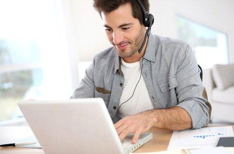 Skype-os német magánóra 10x45 percben