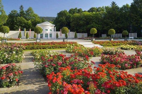 Látogatás Laxenburgban és a Rózsafesztiválon