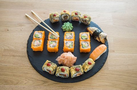 26 db-os alap sushi szett a Sushi Masterben