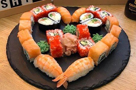 18-42 db-os sushi szettek a belvárosban