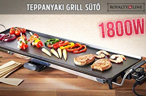 Royalty Line Teppanyaki elektromos asztali grill