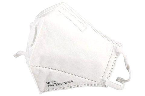 5 db FFP2 szelepes védőmaszk fehér színben