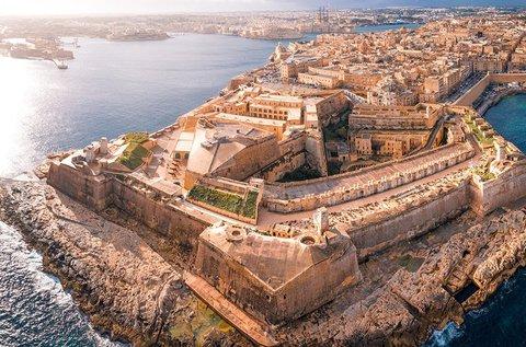 4 napos lazítás a napfényes Málta szigetén