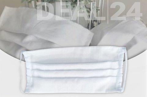 Egyrétegű, mosható textil maszk gumizsinórral