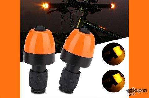 2 db kerékpár kormányrúd LED index lámpa