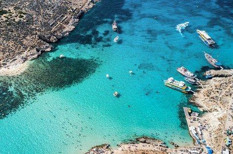 Felhőtlen tengerparti élmények Málta szigetén