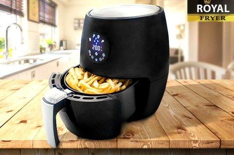 Royal Fryer olaj nélküli fritőz digitális LED kijelzővel