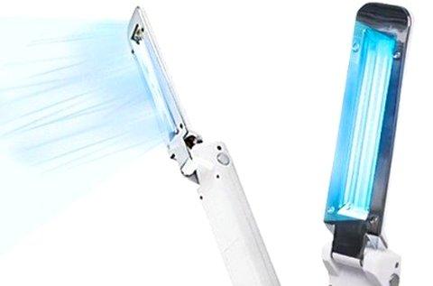 UV-C sterilizáló lámpa összecsukható kivitelben