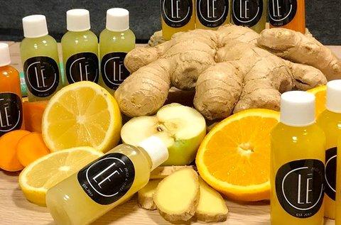 4 adag immunerősítő Ginger Shot választható ízben