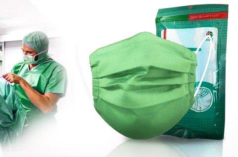 1 db 3 rétegű orvosi szájmaszk steril kivitelben