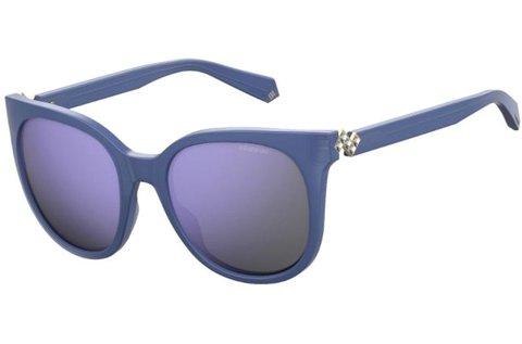 Polaroid polarizált női napszemüveg kék színben