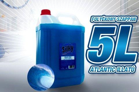 5 l-es Silky Atlantic folyékony szappan