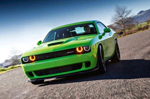 5 kör Dodge Challenger Hulk V8 élményvezetés