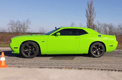 Vezess Dodge Challenger Hulkot a Hungaroringen!