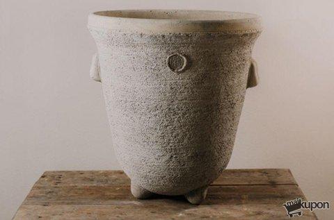 Héra kézműves kőedény kül- vagy beltérre
