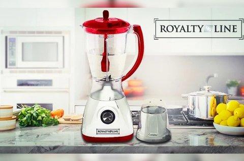 Royalty Line elektromos turmixgép üveg tartállyal