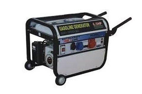 6500 W-os tech kerekes, benzinmotoros generátor