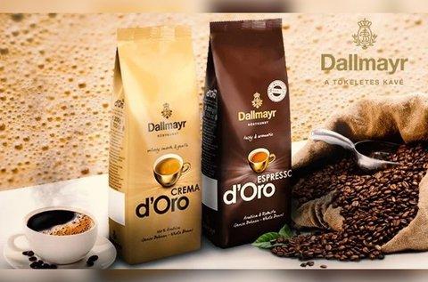 Dallmayr Espresso vagy Crema szemes kávé