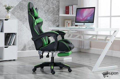 Racing Pro X gamer szék kényelmes lábtartóval