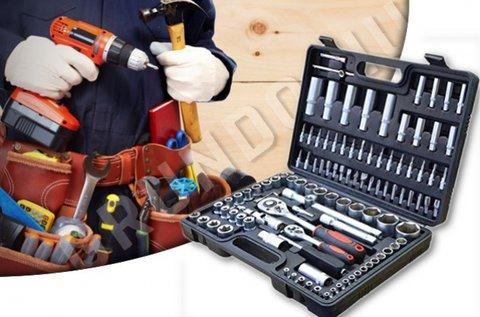 MaxTools racsnis dugókulcs készlet kofferban