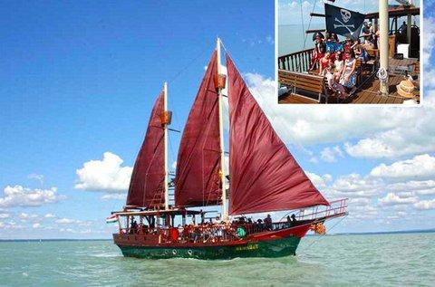 Hajós programok a Balatonon 1 főnek