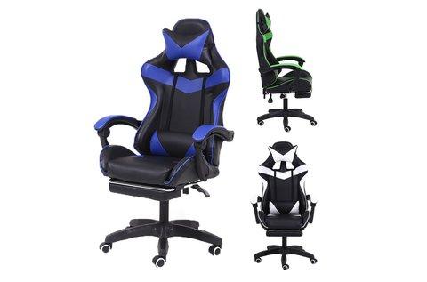 Racing Pro X gamer szék lábtartóval