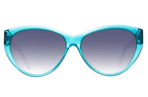 Just Cavalli női napszemüveg türkiz színben