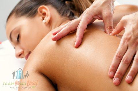 50 perces fájdaloműző olajos gyógymasszázs