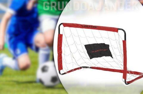Könnyen felállítható Dunlop focikapu szett