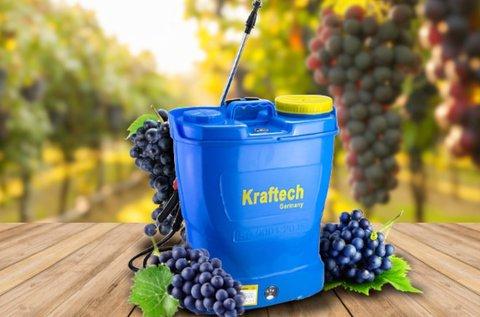 Kraftech akkumulátoros háti permetező