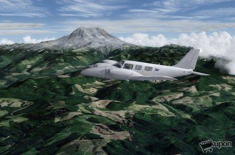 Repülőgép szimulátor vezetés Washington felett