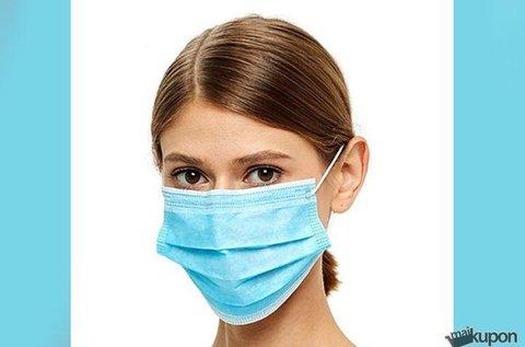 20 db steril, eldobható egészségügyi arcmaszk
