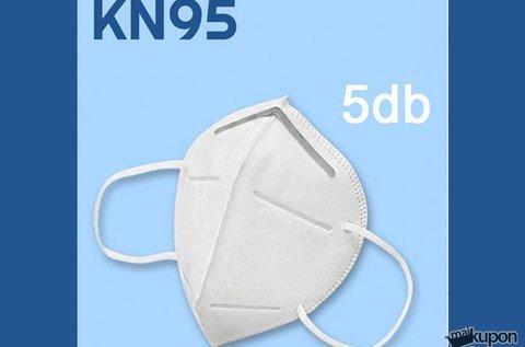 50 db KN95 többször használatos szájmaszk