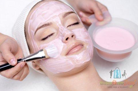 Ultrahangos arcfeszesítés Tokaji aszús szérummal