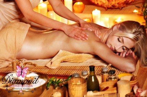120 perces aromaterápiás stresszoldó masszázs