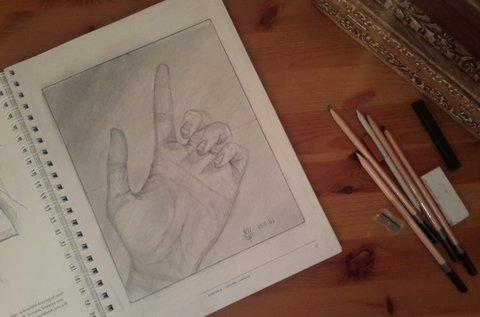 Jobb agyféltekes rajzolás 3 vagy 4 napban