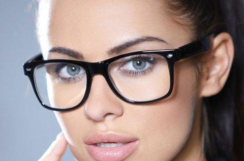 Komplett, egyfókuszú, dioptriás szemüveg